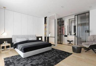 达州帝豪装饰:听帝豪装饰设计师讲述如何在卧室设计一个小型衣帽间?