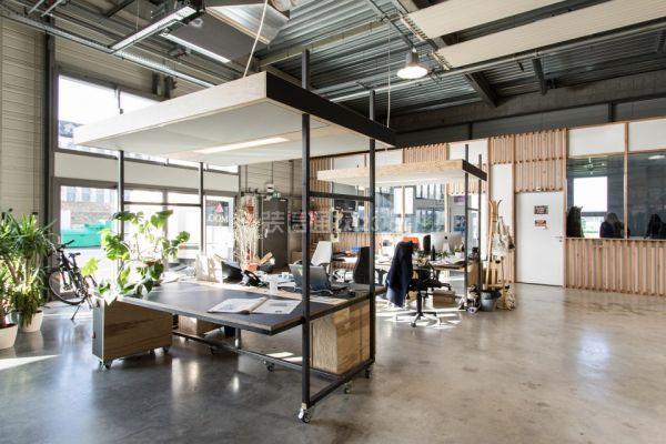 [宏钰堂装饰]分享旧车库改造创意办公室装修效果图