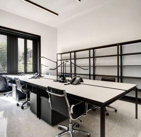 成都写字楼简约办公室装修效果图-每日推荐