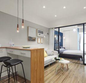 40平现代风格小户型公寓装修设计图片-每日推荐