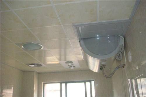 铝扣板吊顶效果图      这款浴室铝扣板吊顶整体搭配非常的协调