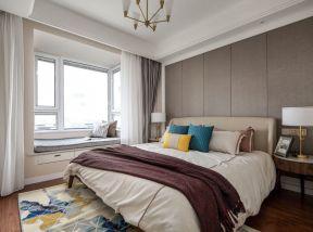 現代臥室裝修效果圖 現代臥室裝修圖片 臥室飄窗設計圖片大全