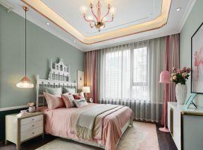 樣板房臥室裝修效果圖 樣板房臥室 臥室背景墻設計圖