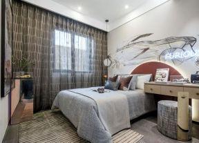 臥室窗簾裝修效果圖大全2020圖片 臥室窗簾搭配效果圖