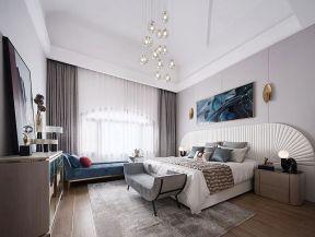 大平層臥室裝修 臥室木地板裝修效果圖