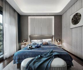 簡約現代臥室裝修效果圖 現代簡約臥室裝潢設計