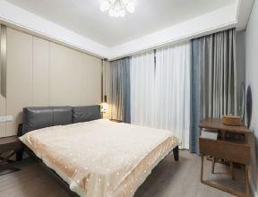 現代臥室家具圖片 臥室窗簾裝飾圖片