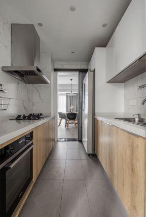 一字型厨房装修图片 厨房橱柜图片大全 厨房橱柜效果图片欣赏