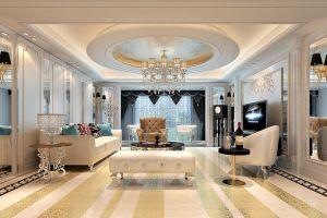 嘉洲花园洋房170平米豪华欧式风格复式装修案例