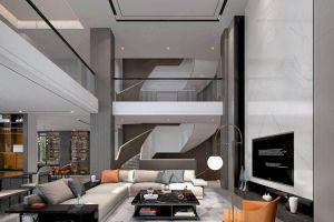 印象剑桥800平米现代轻奢风格别墅装修案例
