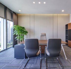 济南写字楼经理办公室装修效果图-每日推荐