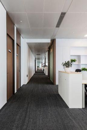 办公室走廊效果图 办公室走廊装修设计图片 办公室走廊吊顶