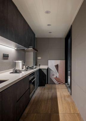 一字型厨房装修 一字型厨房装修效果图