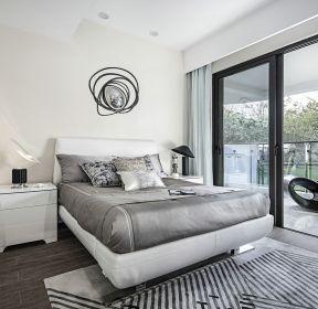 广州公寓样板间卧室装修效果图-每日推荐