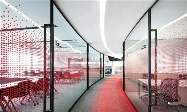 无锡办公室装修公司-走廊设计图片