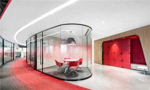 无锡办公室装修公司-办公室隔断图