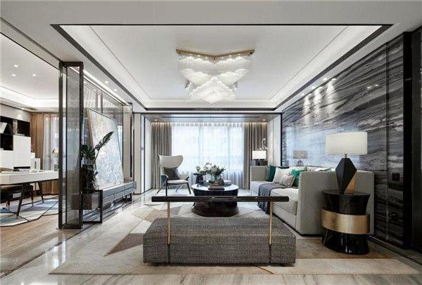 无锡速美超级家装饰-客厅效果图