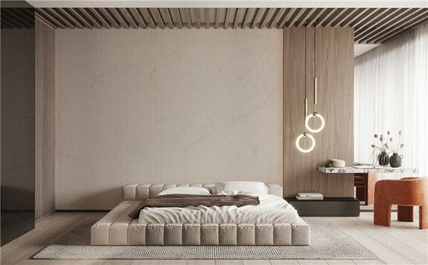 无锡神洲装饰-卧室背景墙效果图