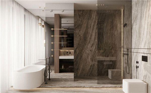 无锡昊乐装饰-卫浴间设计效果图