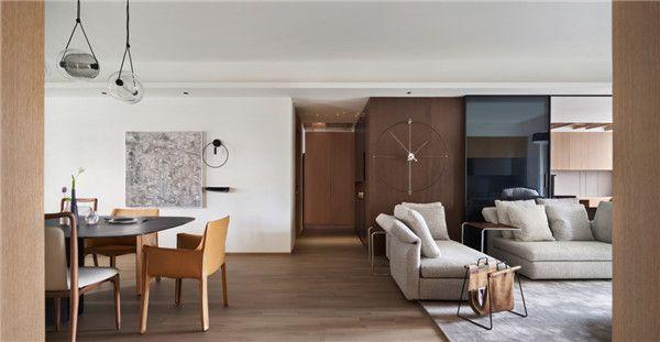 260平米四居室设计客餐厅图片