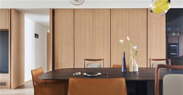 260平米四居室设计餐厅效果图