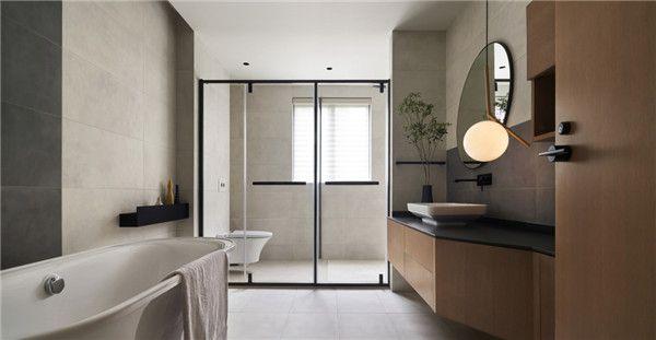 260平米四居室设计卫生间图片