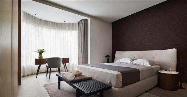 260平米四居室设计主卧室图片