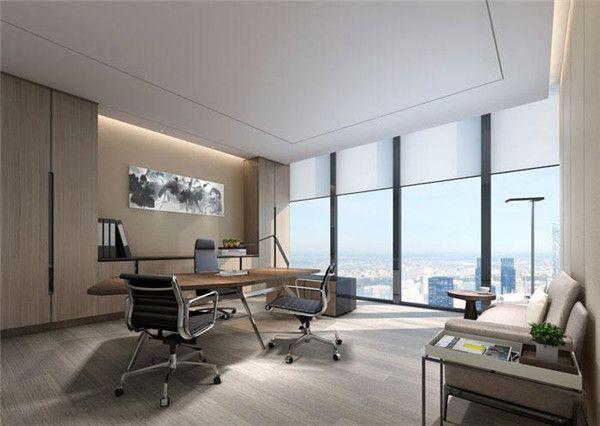 无锡领导办公室装修设计图片