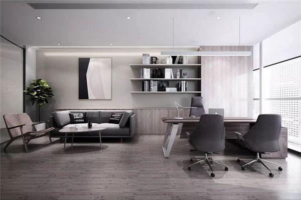 无锡经理办公室装修设计效果