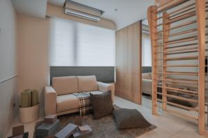 天安城市花园88平米两居室简约风格装修案例