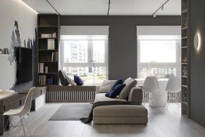 弘阳昕悦府100平米现代简约风格三居室装修案例