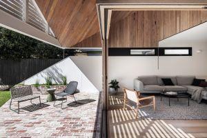新梁溪人家200平米现代简约风格别墅装修案例