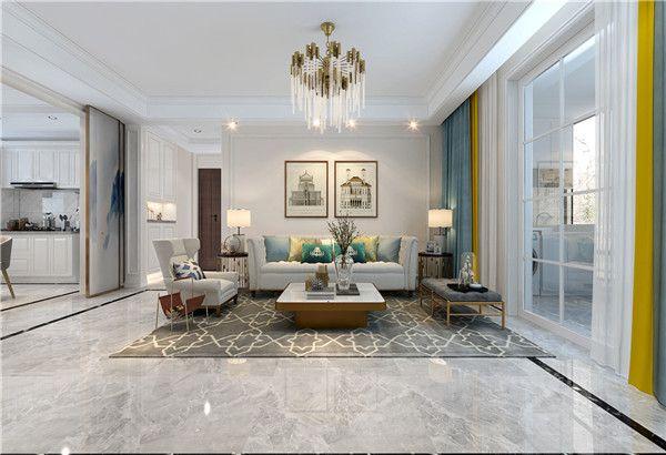 新房装修客厅装饰设计图片