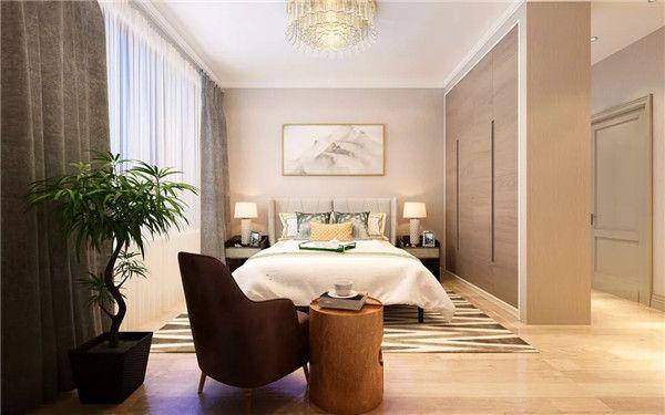 新房装修卧室隔断设计图片