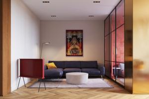 碧桂园翡翠湾110平米三居室现代简约装修案例