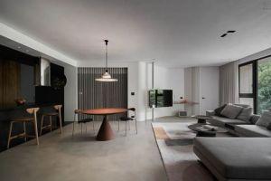 弘阳昕悦府120平现代简约风格三居室装修案例