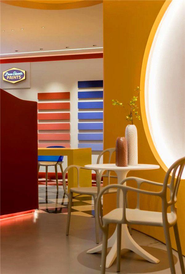 展厅内部色彩设计图片