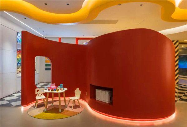 展厅空间色彩设计图片