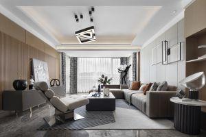 万科翡翠东方170平方四室现代装修风格案例