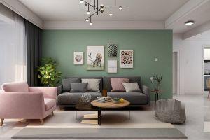 保利融侨时光印象110平方三室现代装修风格案例
