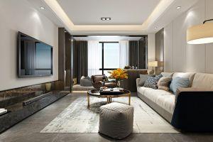 正大万物城120平方三室现代装修案例