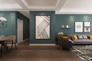 吉宝凌云峰阁127平方三室现代装修风格案例