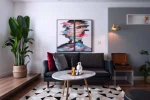碧桂园金茂悦山149平方三室现代装修风格案例