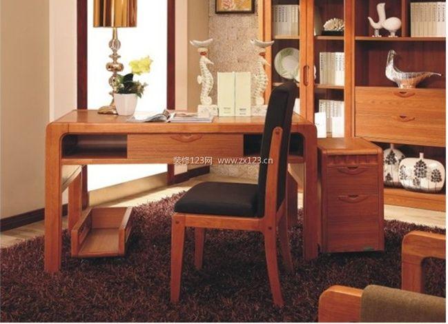 名称:书桌,中式风实木书桌 标签:中式家具 柏森家具 书