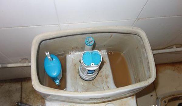 马桶水箱工作原理图片