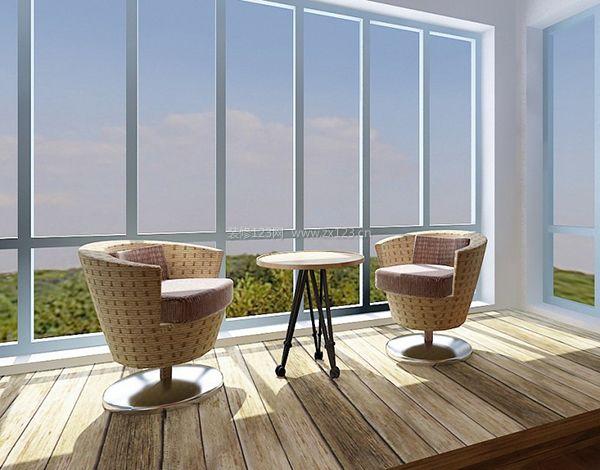 阳台家具铝合金家具曲木椅玻璃茶水花架批发遮阳伞藤椅户外餐桌椅防腐