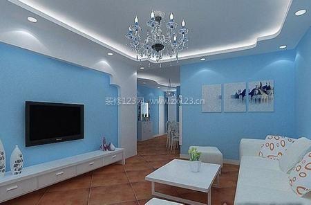 世界装修商业顶尖蓝色室内设计图片