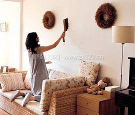 墙面污渍清洁