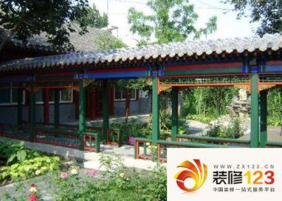 北京刘海胡同效果图图片大全-我的小区-北京装修123网图片