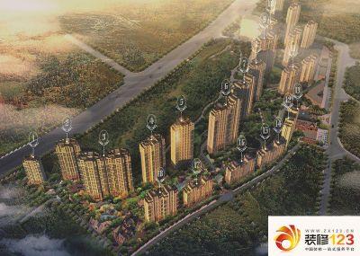 青岛万科蓝山实景图图片大全-我的小区-青岛装修123网